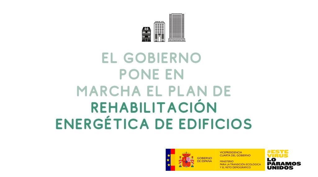 Aprobado el Programa de Rehabilitación Energética (PREE)  una línea de ayudas de 300 millones para Rehabilitación Energética de Edificios